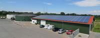 Biogasanlage mit PV-Halle
