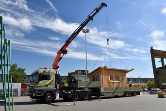 Azubi-Projekt Transport LKW