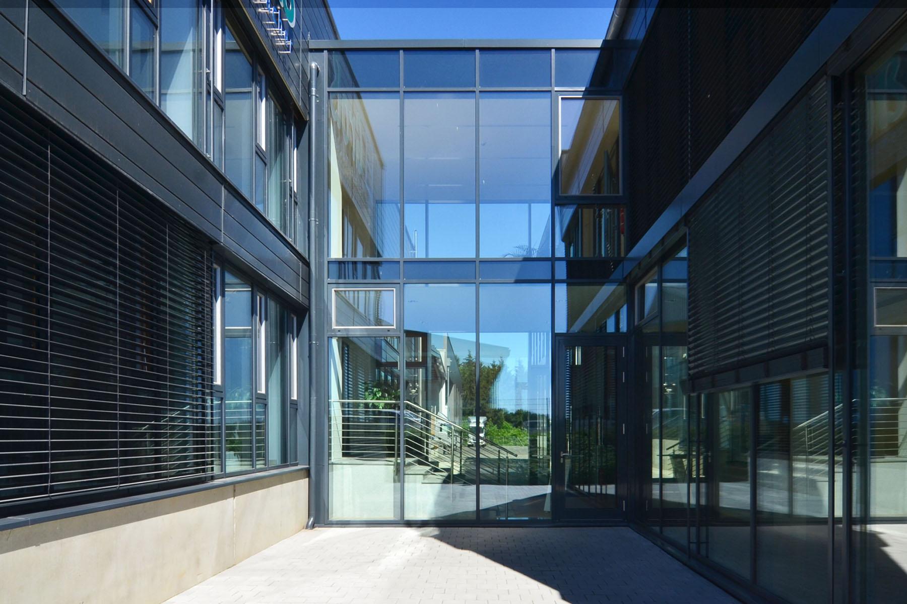 Pfosten-Riegel Fassade