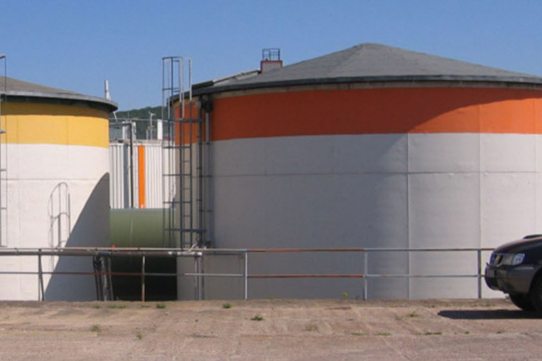 Flüssigdüngerbehälter
