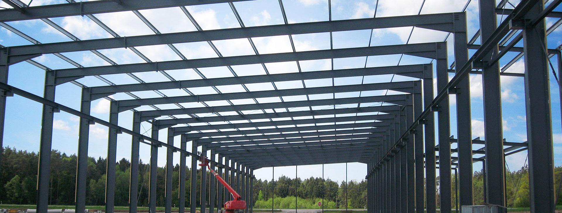 Stahlkonstruktionen f r den anlagen und messebau for Fachwerkrahmen stahl