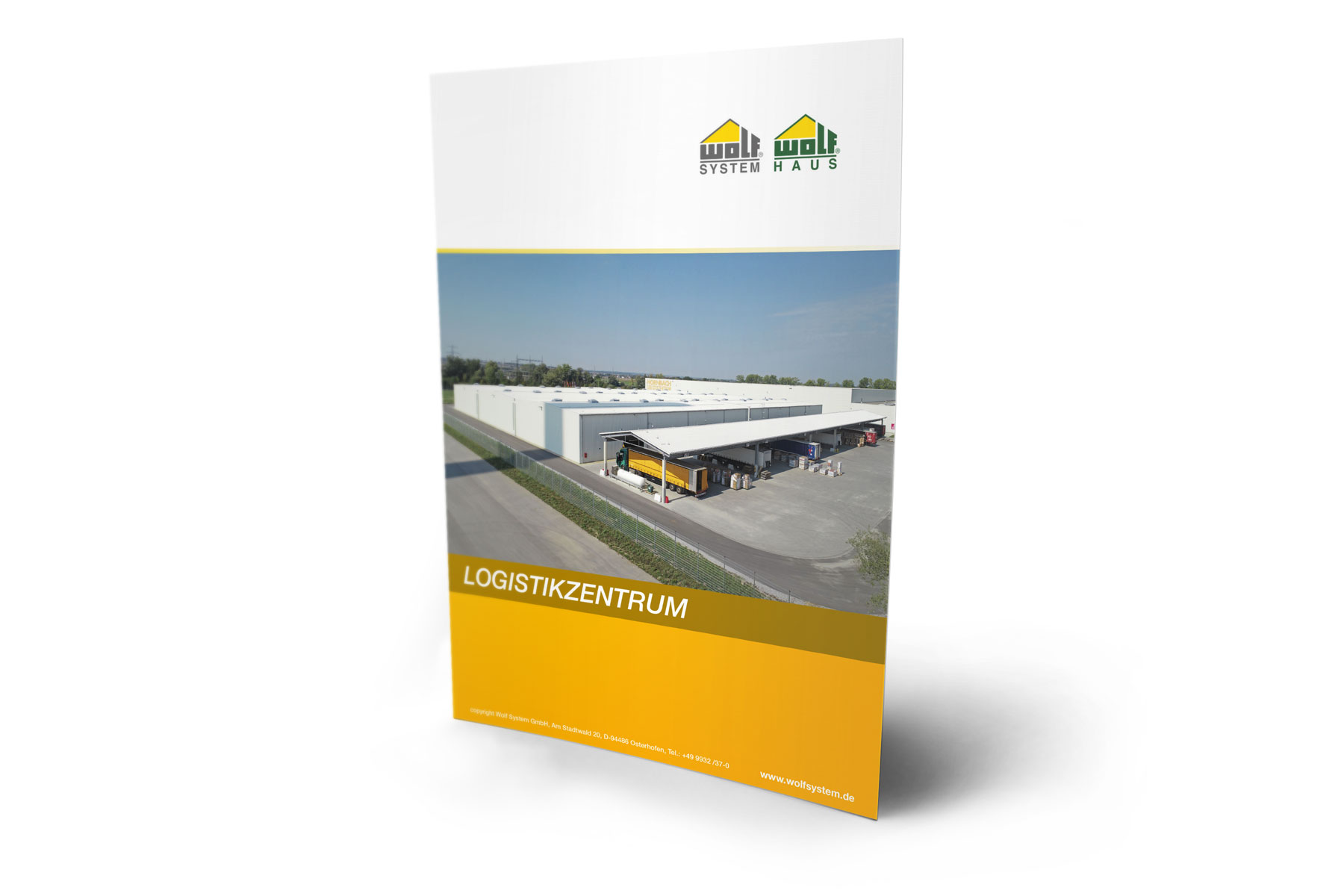 Flyer Logistikzentrum
