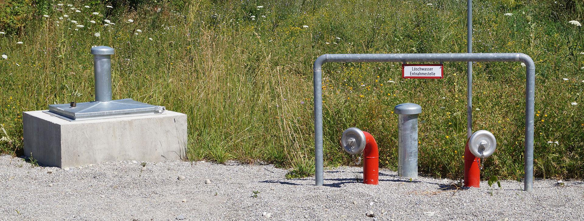 Wasserbehälter unterirdisch