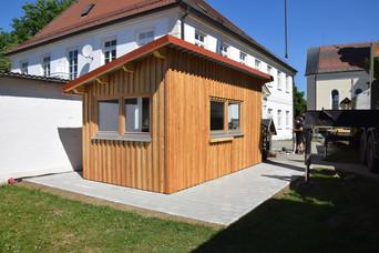 Azubi-Projekt Gartenhaus