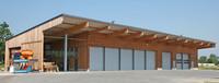 Fahrzeughalle für Kommunen