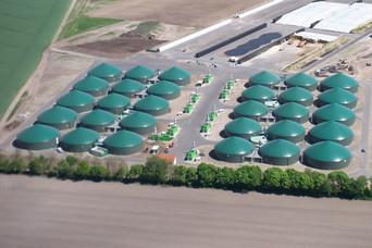 Biogasanlage Industrie