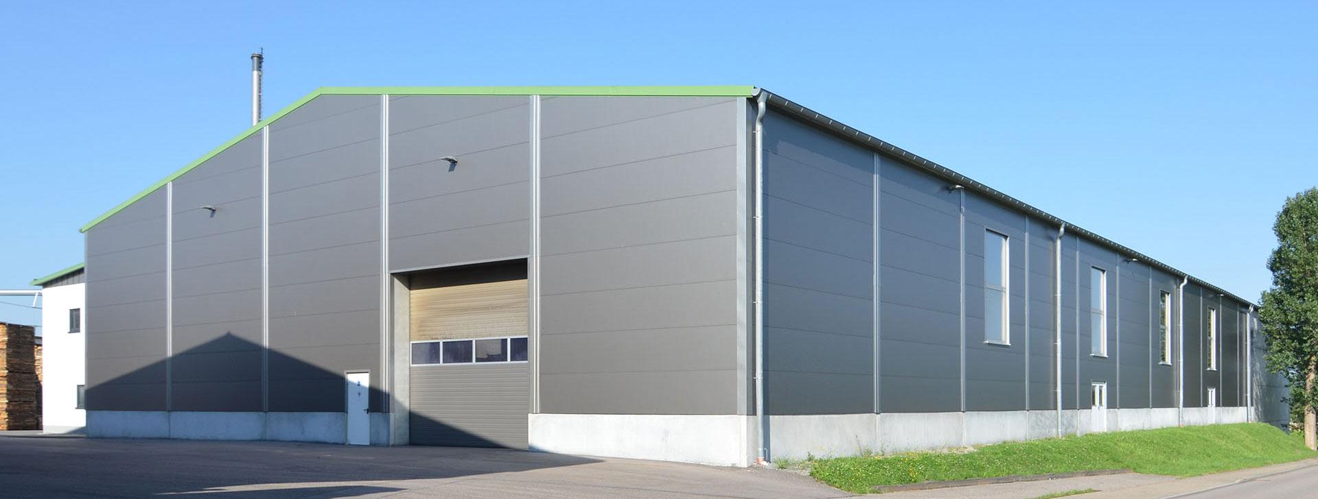 Prächtig Stahlhallen für Produktion und Lagerung für das Gewerbe @XK_73