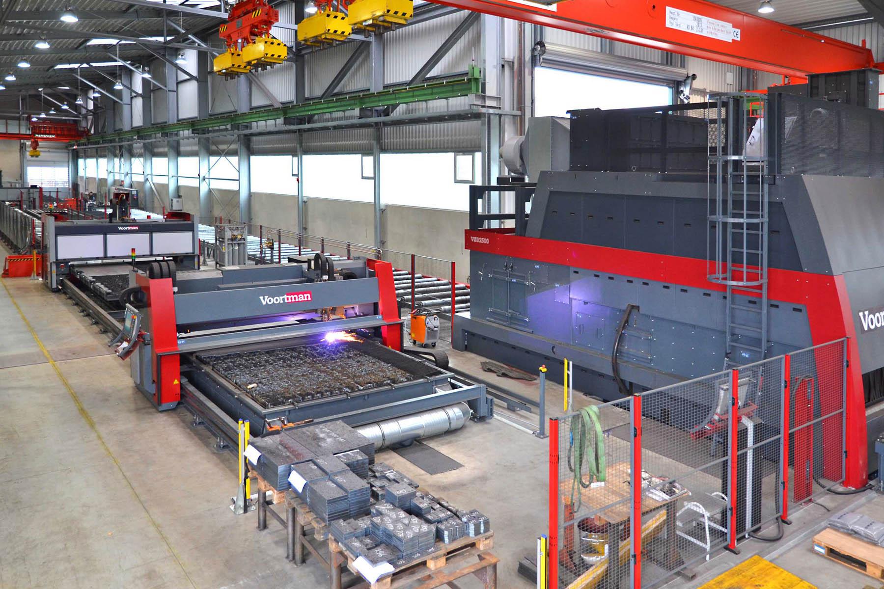CNC Plasmaschneider Stahl