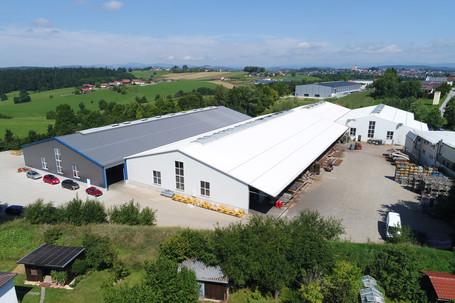 Produktionshallen mit Satteldach