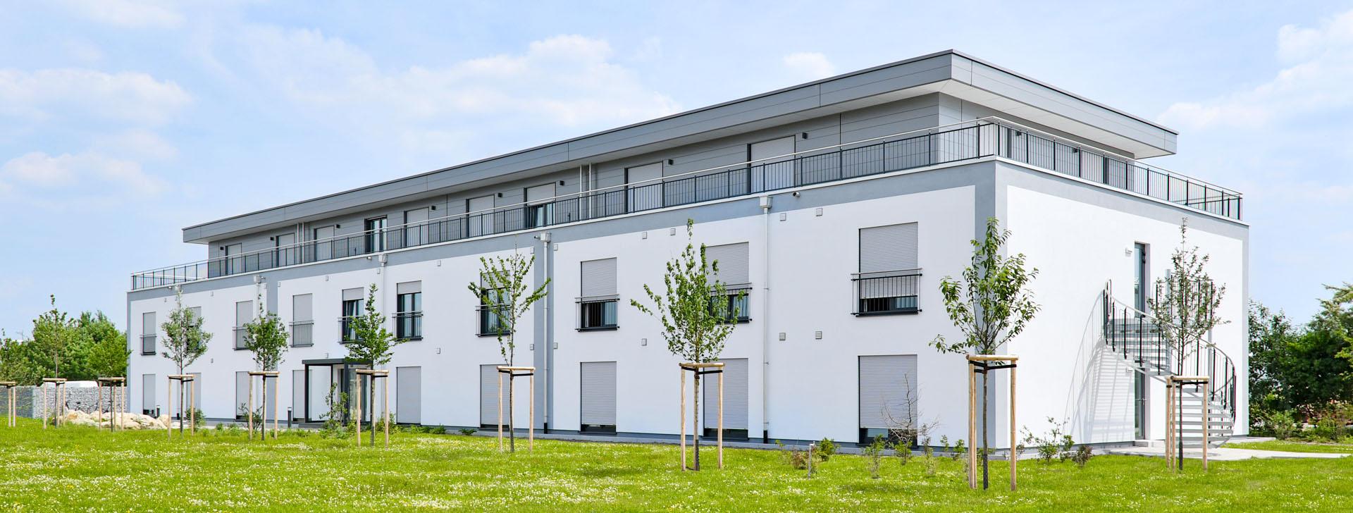 Wohngebäude für Erntehelfer