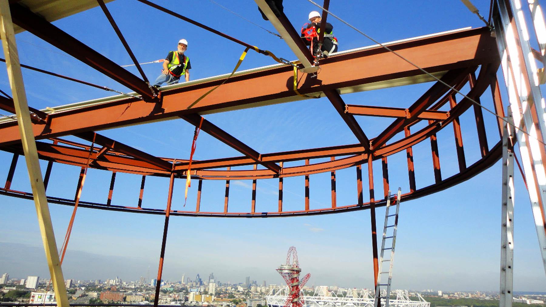 Montage Stahltragwerk