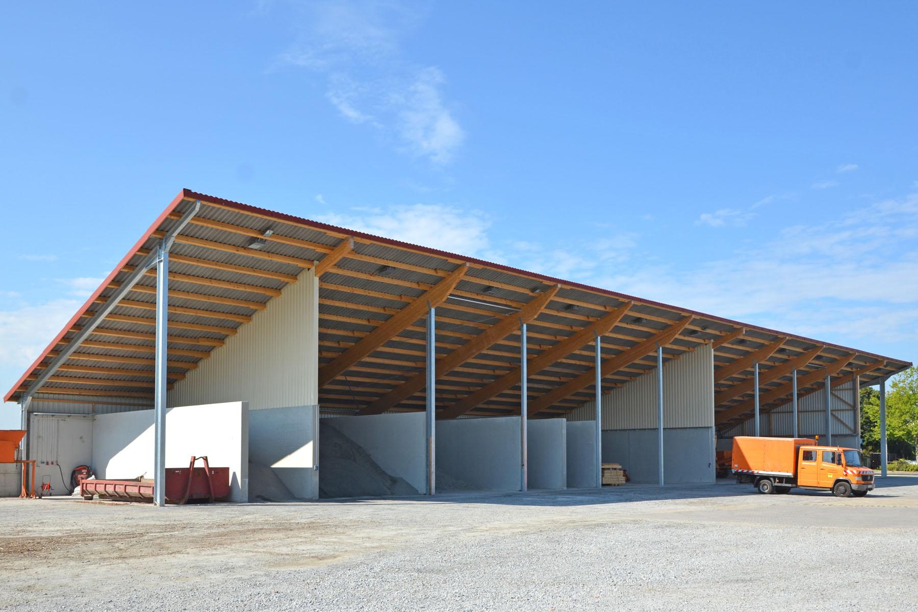 Halle für Bauhof