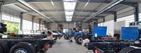 Werkstatt für LKWs
