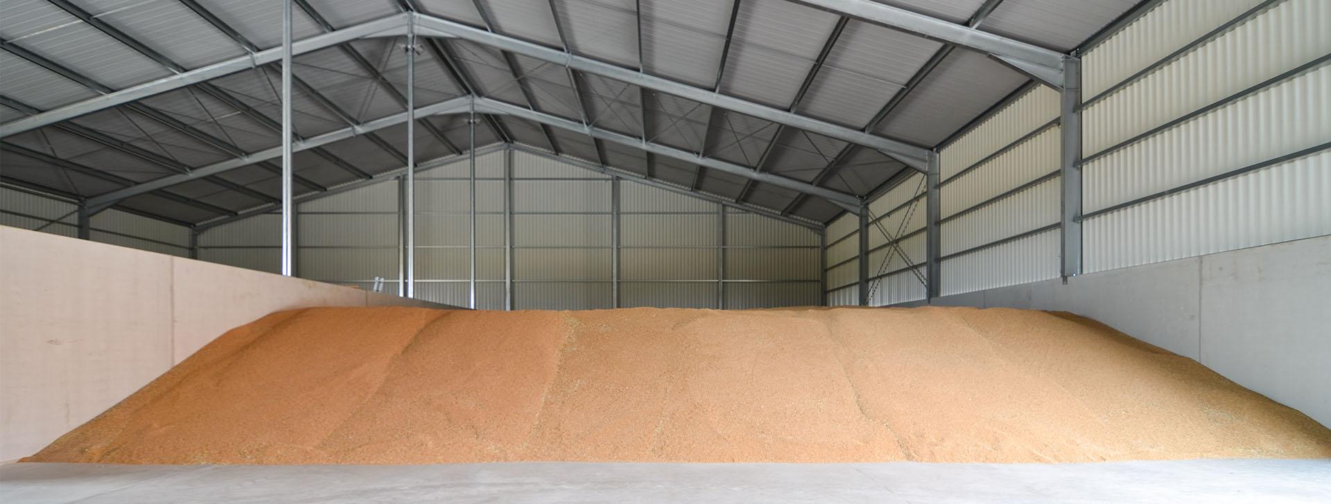 Getreidelagerhalle