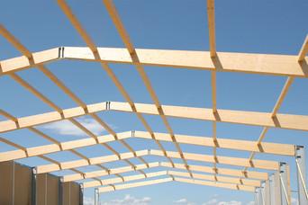 Stahl Brettschichtholzrahmen