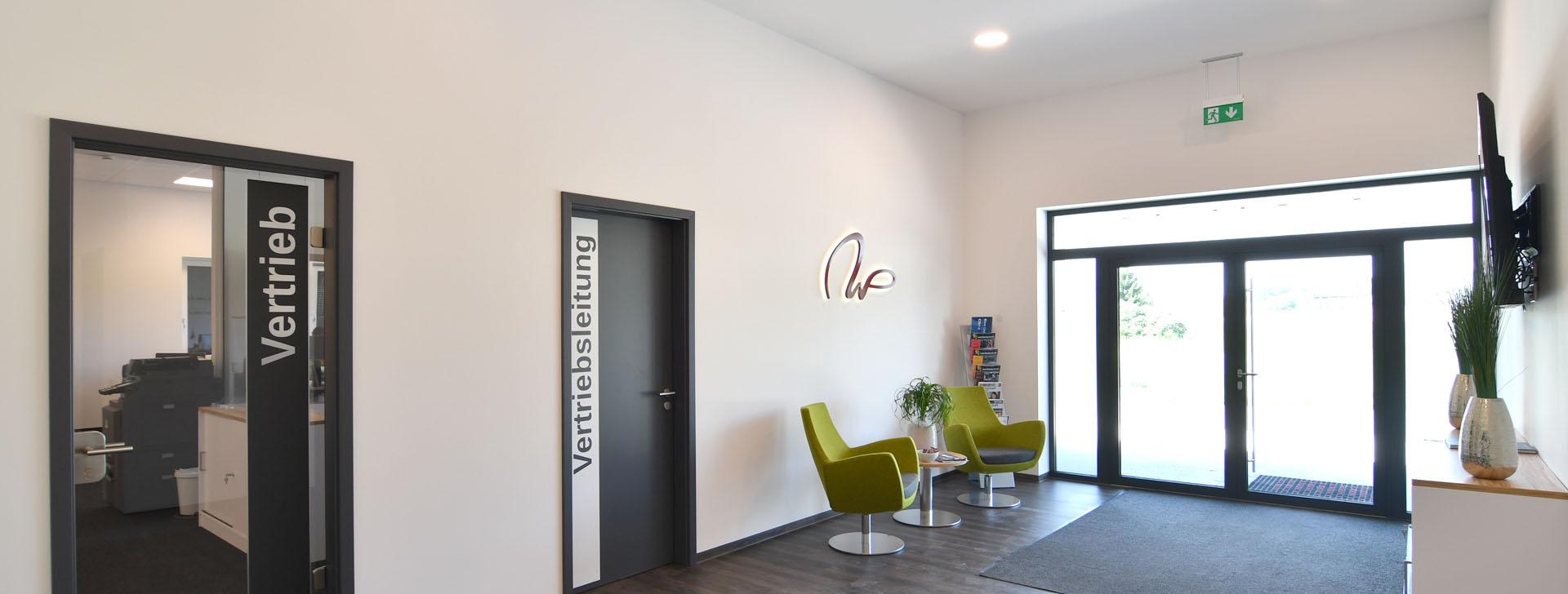 Foyer eines Büros