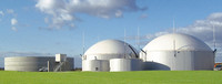 Biogasanlage mit Endlager