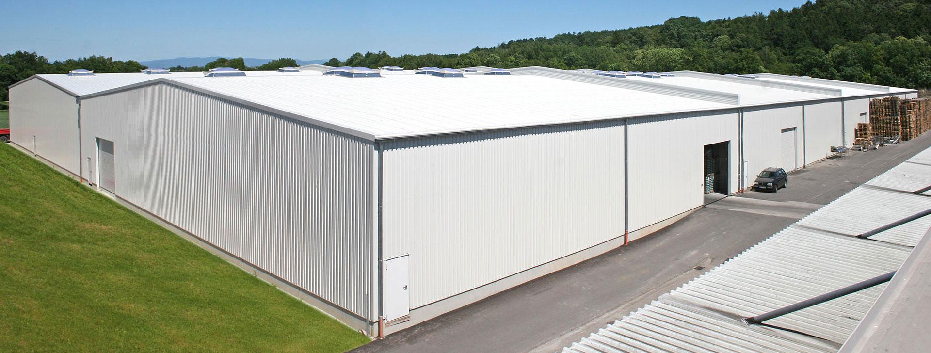 Lagerhalle für Agrarerzeugnisse