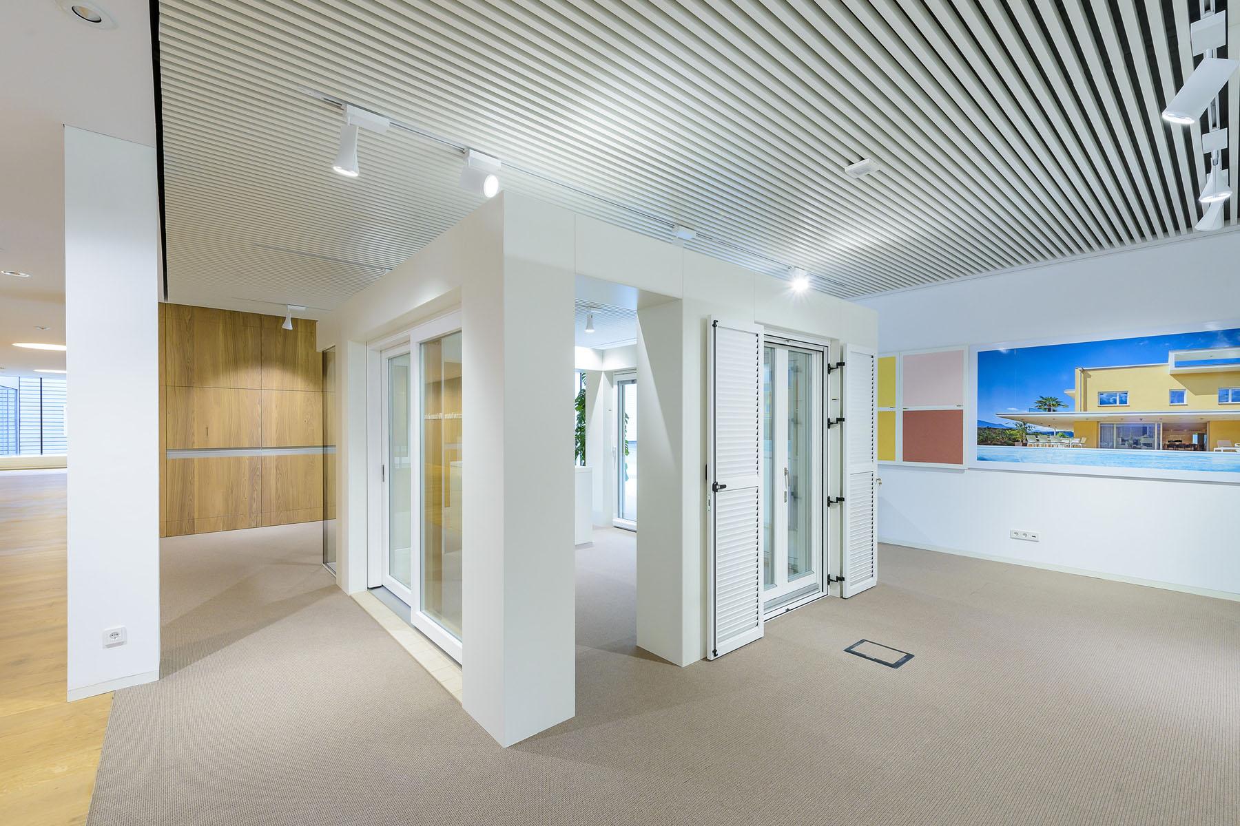 Ausstellungsgebäude WOLF System