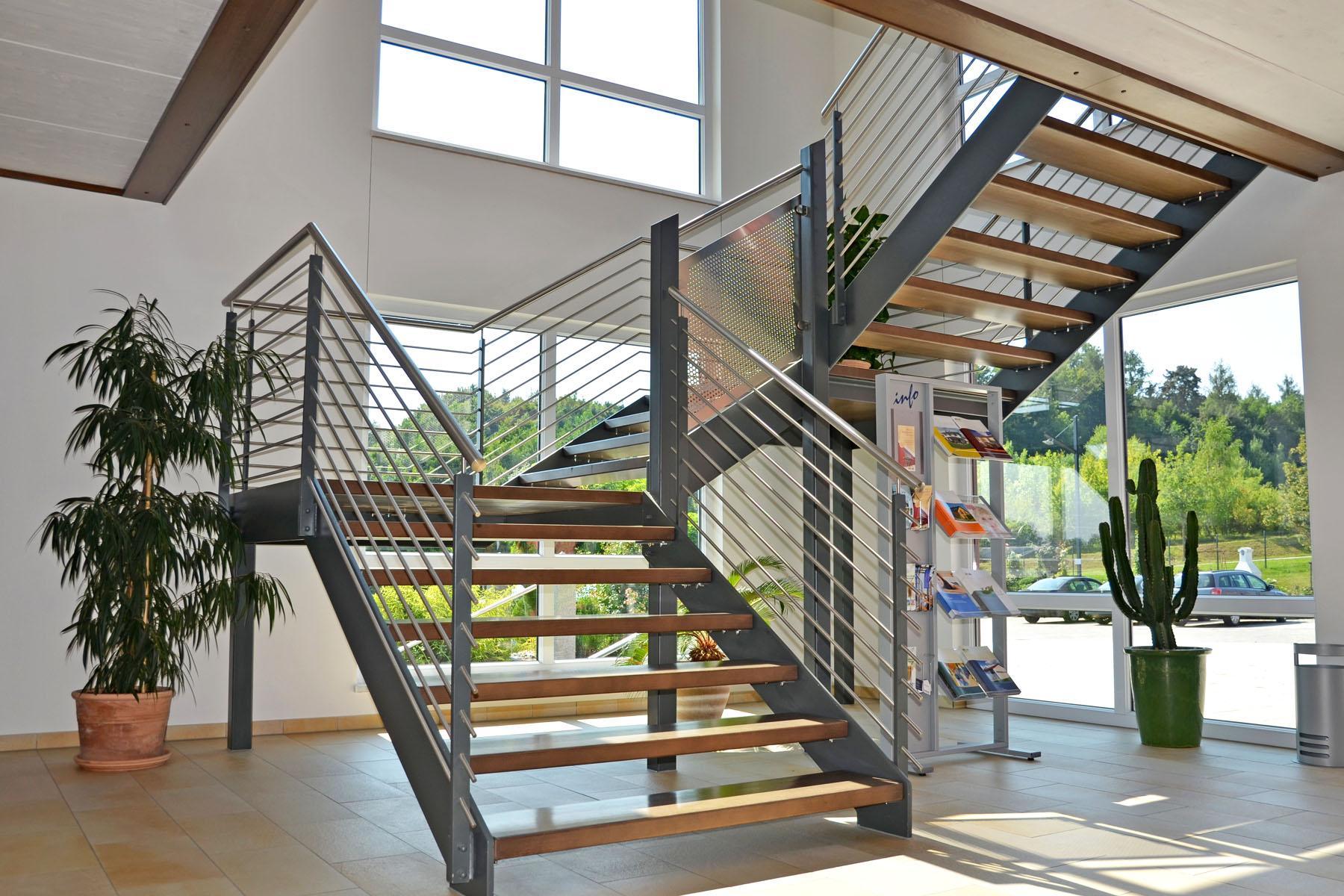 Bemusterung Treppe