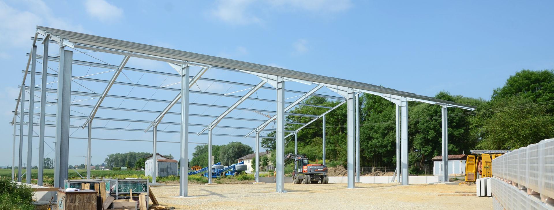Konstruktionen aus Stahl, Holz und Beton
