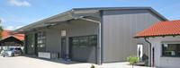 Lagerhalle mit Vordach