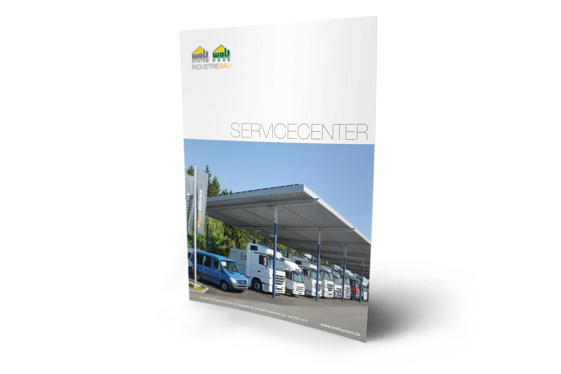 Flyer Servicecenter