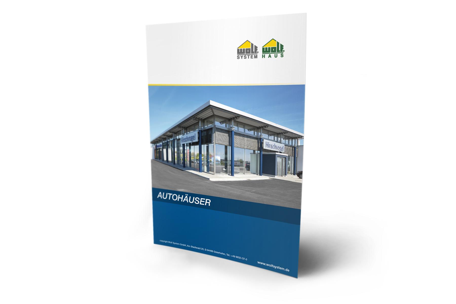 Autohaus und Werkstatt