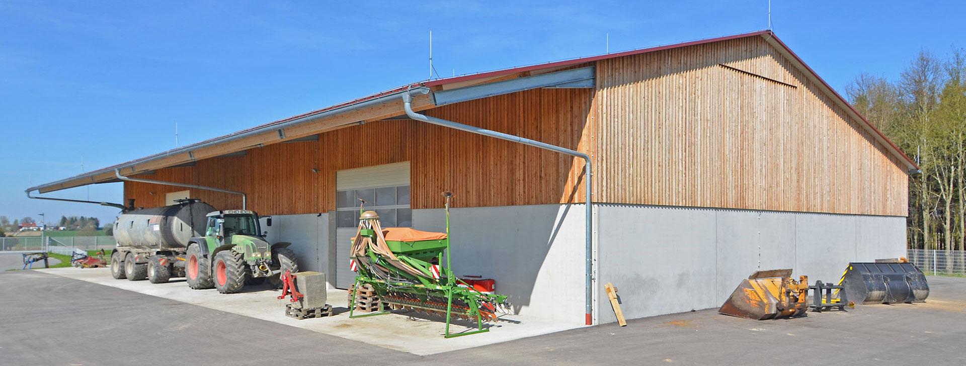 Top Maschinenhallen und Bergehallen aus Stahl und Holz - wolfsystem.de &NH_41