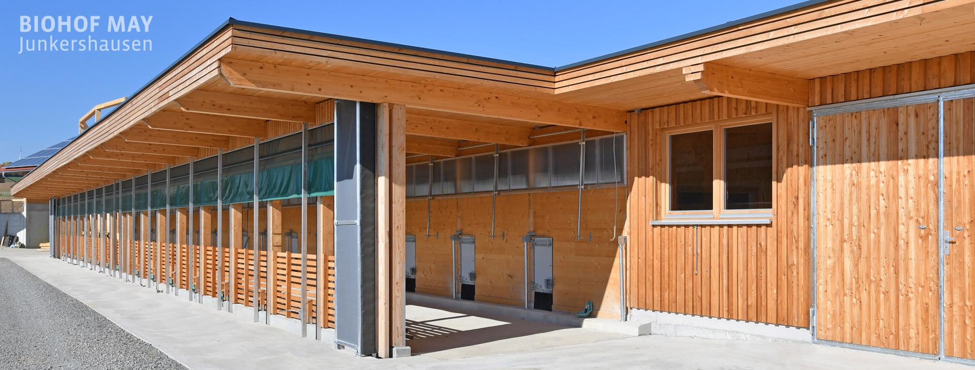 WOLF Referenzbau Biohof May
