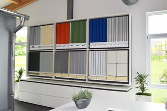 Bemusterung Fassadenmaterialien